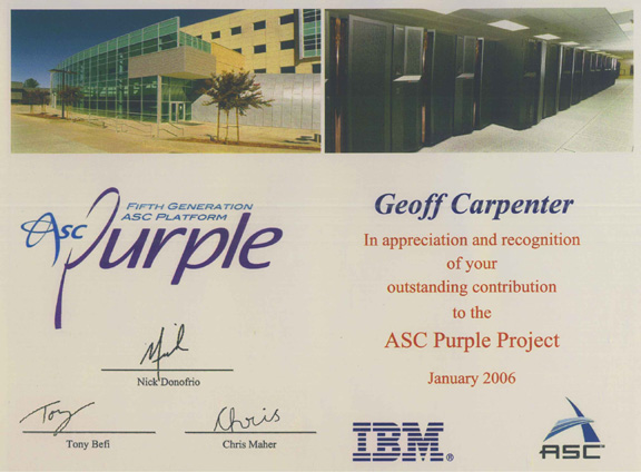 ASC Purple contribution