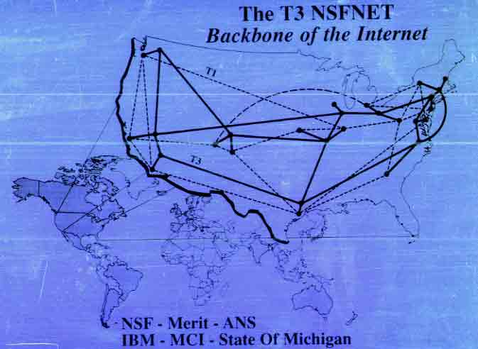 The T3 NSFNET - Backbone of the Internet